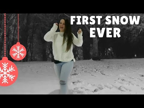South African Sees SNOW for the first time (EVER) | SOUTH AFRICAN IN THE UK | Jessi Clare