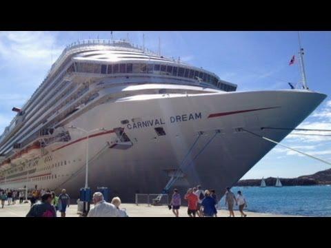 Carnival Cruise Ship Stranded In The Caribbean YouTube - Stranded cruise ship