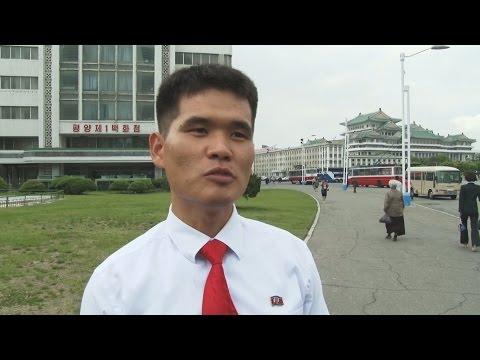 朴前大統領と同じ轍踏むな 平壌市民、韓国の文氏に
