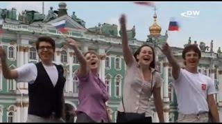 Русские - о немцах, немцы - о русских(Что молодежь Германии знает о России, что россияне знают о Германии? Понять это можно, посмотрев телесюжет..., 2010-08-04T10:23:09.000Z)