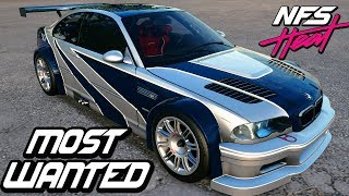 "Прохождение Need For Speed: Heat — ЛЕГЕНДАРНАЯ ""BMW M3 GTR '06"" ИЗ MOST WANTED"