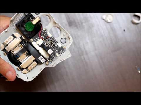 【DJI】ドローンを分解してフラットケーブルの交換修理【Phantom4】