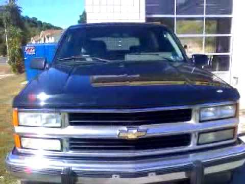 1994 2 door chevy tahoe on 24 youtube. Black Bedroom Furniture Sets. Home Design Ideas