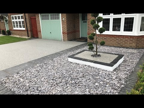 Vuba's Guide to Mixing and Laying a Resin Bound Driveway