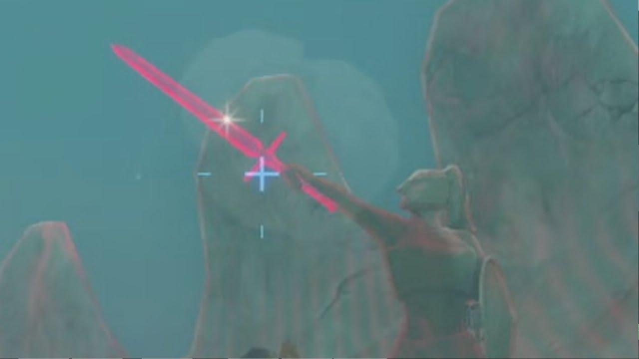 Zelda Breath Of The Wild The Eye Of The Sandstorm Youtube