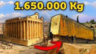 La Gigantesca Piedra de 1650000 Kg que los Arqueologos no Entienden