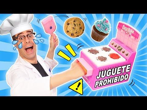 COCINO en HORNO DE JUGUETE PROHIBIDO en 2007 Easy Bake Oven | Juguetes Curiosos con Mike