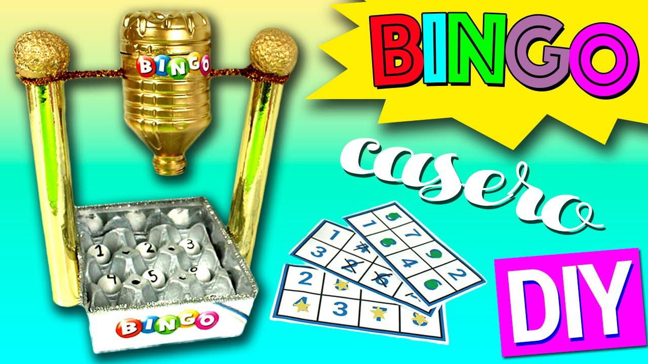 Bingo Casero De Reciclaje Juguetes Caseros Para Ninos Youtube