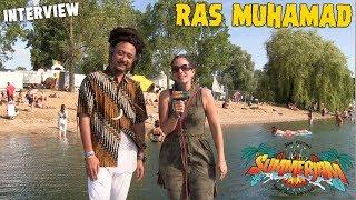 Ras Muhamad - Interview @ SummerJam 2018