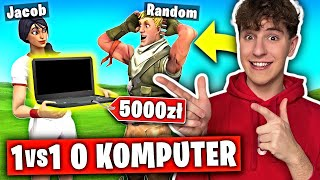 1vs1 z RANDOMEM o KOMPUTER... w Fortnite