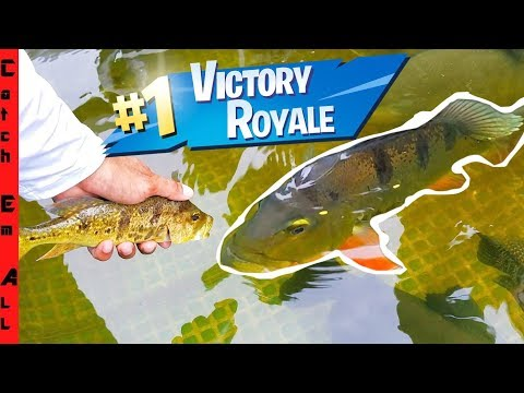 FISH BATTLE ROYALE! Strongest Fish Rules The Pond