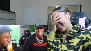 ZIAS AND B. LOU FUNNY MOMENTS! (HILARIOUS) REACTION
