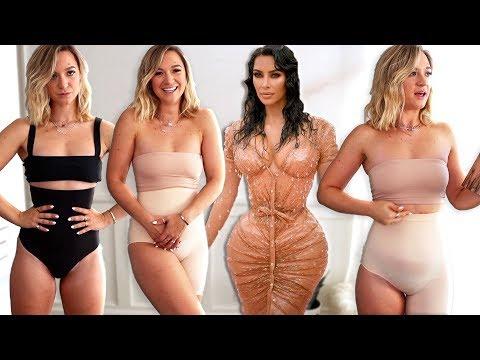 Trying Skims Shapewear by Kim Kardashian... *is it better than spanx? haul / review