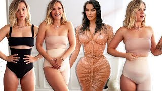 Trying Skims Shapewear by Kim Kardashian... *is it better than spanx? haul / review