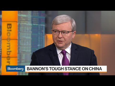 Former Australian PM Rudd Weighs in on U.S.-China Trade
