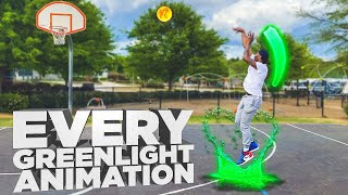 Every Single Greenlight Jumpshot Animation *IN REAL LIFE* From EVERY NBA 2K In HISTORY!