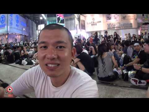 29SEP2014佔領銅鑼灣街頭訪問