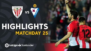 Highlights Athletic Club vs SD Eibar (1-0)