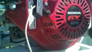 honda gx 270 engine problems