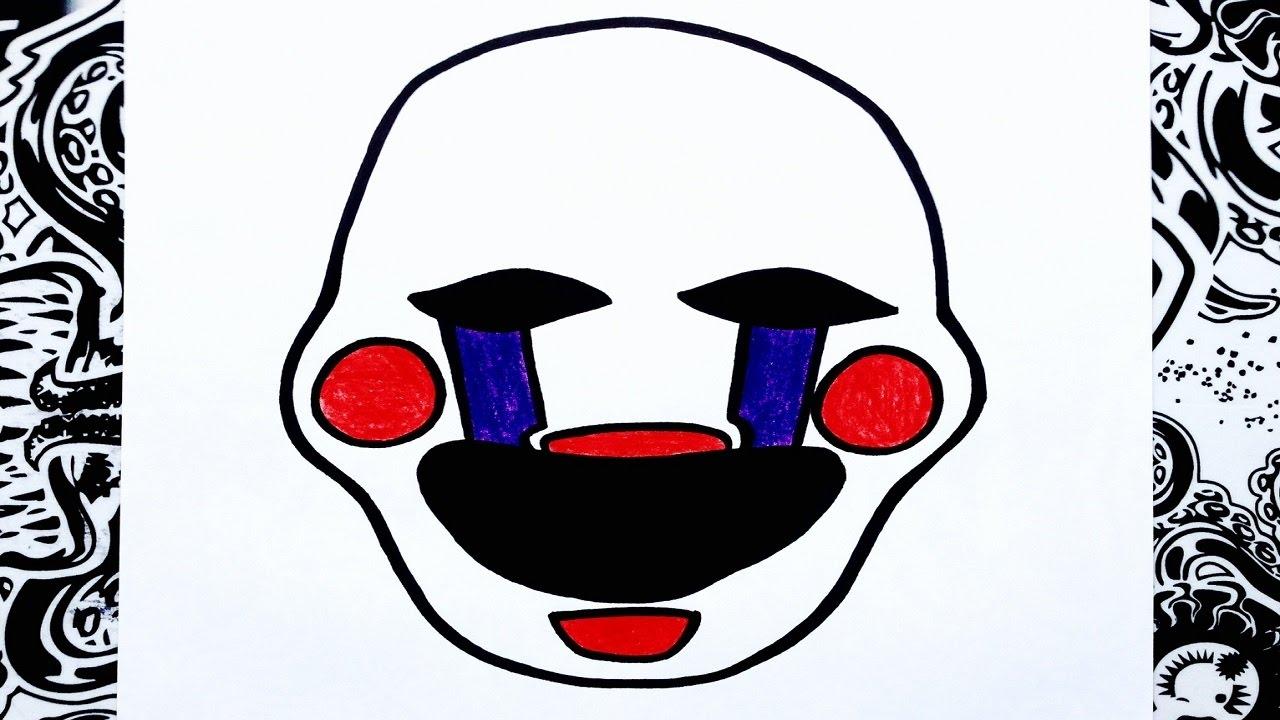Como Dibujar A The Puppet O La Marioneta De Five Nights At Freddys