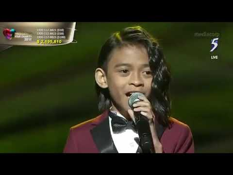 "TNT Boys perform Beyonce's ""Listen"" at President's Star Charity in Singapore"