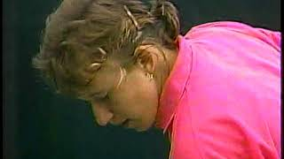 1989 Family Circle Cup Final Steffi Graf vs Natalia Zvereva