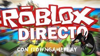 🔴 JUGAMOS CON TOWN EN DIRECTO PIGGY CON 100 JUGADORES | ROBLOX | GAMEPLAYSMIX