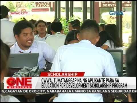 One Mindanao: OWWA Scholarship Bukas Na