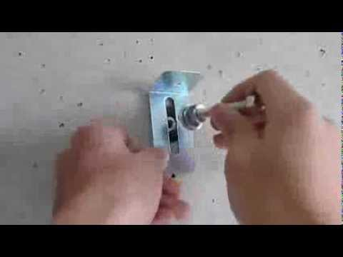 How To Attach Shelf Board Concrete Wall By Hardware