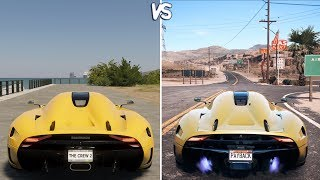 The Crew 2 vs NFS: Payback - Koenigsegg Regera Gameplay Comparison HD