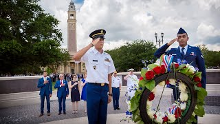 LSU Holds Memorial Day Ceremony