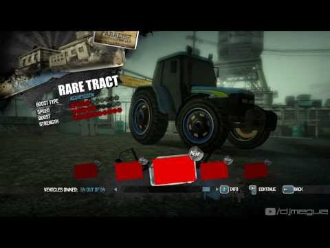 Burnout Paradise - Prealpha RV2 new traffic cars