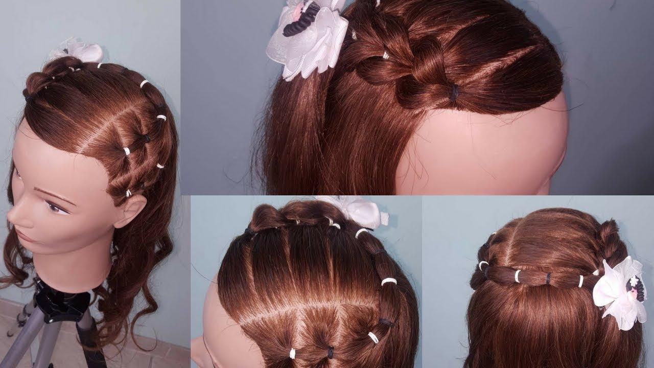 De última generación peinados para niñas faciles paso a paso Fotos de estilo de color de pelo - Para Niña Peinados Con Ligas Faciles Paso A Paso - Varios ...