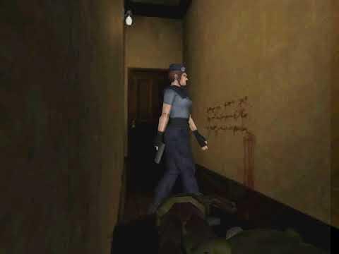 Resident Evil beta message written in blood