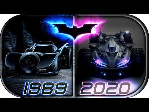 EVOLUTION of BATMOBILE in Movies & TV series (1943-2020)🙊 The Batman 2020 concept batmobile trailer