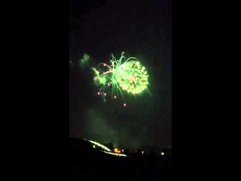 Oak Lawn Richards Fireworks show 2012