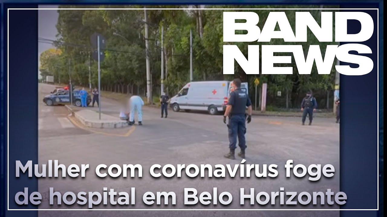 Notícias - Mulher com coronavírus foge de hospital - online