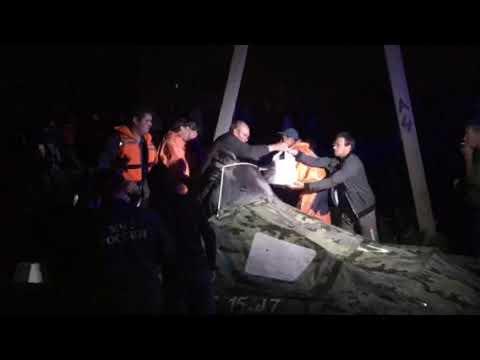 Ночная эвакуация из Тулуна
