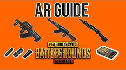 AR Guide| 7.62 mm Ammo Rifles| Best Attachments| PUBG Mobile