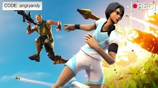 Angry Andy's Fortnite LIVESTREAM CUSTOM MATCHMAKING STREAM SNIPE ME
