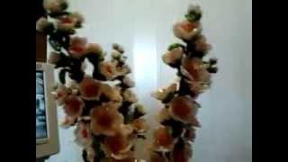 ветки сакуры из бисера