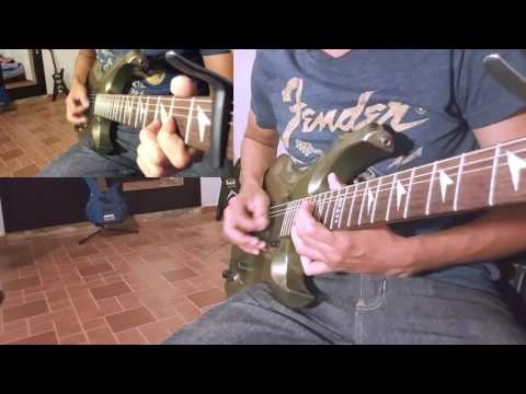 Hernan-Quinones-Back-in-Black-Guitar-cover