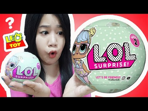 รีวิว L.O.L ตุ๊กตาเซอร์ไพรส์ 7 ชั้น แบบใหม่ล่าสุด !!【 l.o.l surprise series2 】จากร้านลีโอทอย
