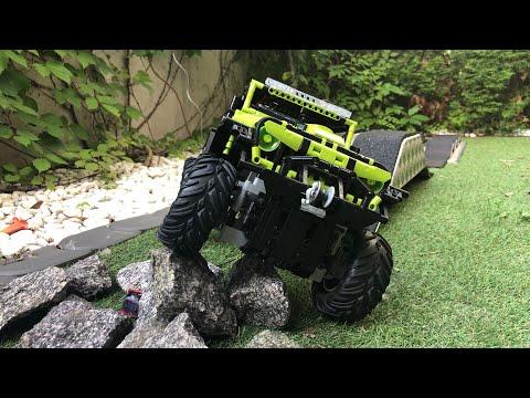 Jeep Wrangler von Rael,Super18K  Set Nr: LE-J902 Offroad Test mit Fehlerdiagnose(Tips &Tricks)