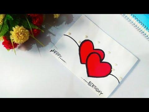 Diy Heart Pop Up Card Valentine Pop Up Card Ll Birthday