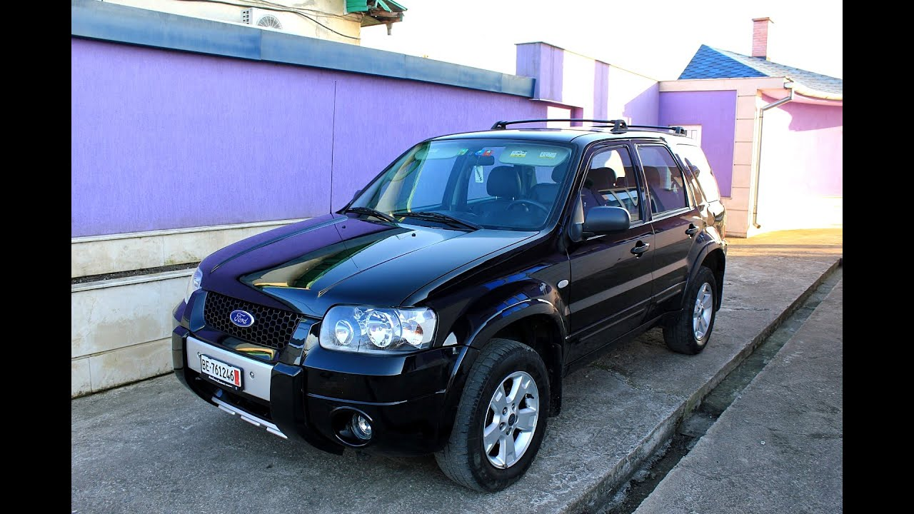 ford maverick 2 3 4x4 2006 150hp 150ps