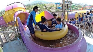 Wet N Joy Water Park in India (Indian Music Clip!)