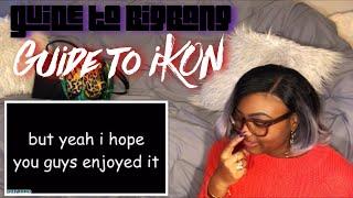 Guide to BigBang and iKON REACTION | #kpop #bigbang #ikon