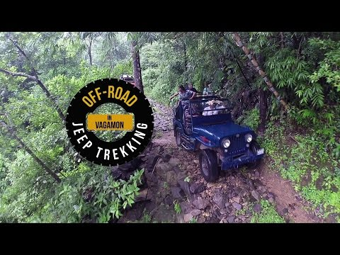 EXTREME OFFROAD 4X4  MAHINDRA JEEP TREKKING | Emos Productions