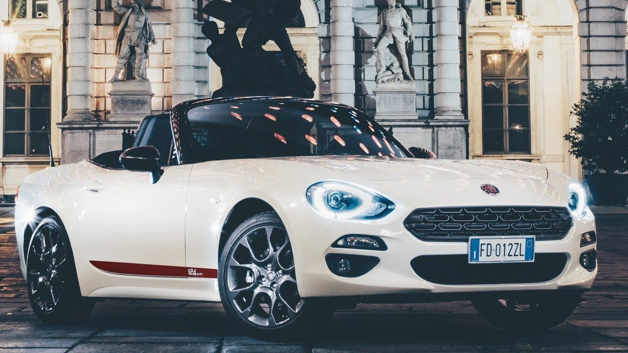 fiat 124 spider s design 2018 review first look youtube. Black Bedroom Furniture Sets. Home Design Ideas